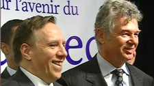 Francois Legault and Charles Sirois say it's time to abandon the separation debate (Feb. 21, 2011)