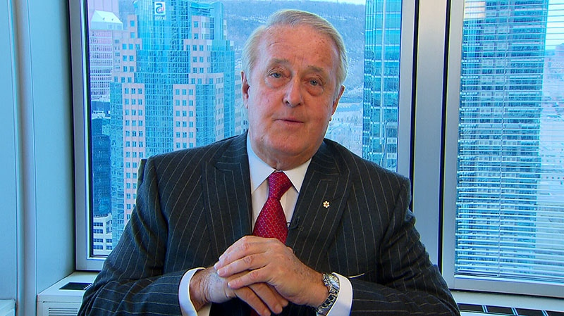 Former prime minister Brian Mulroney speaks to CTV's Power Play on Monday, April 8, 2013.