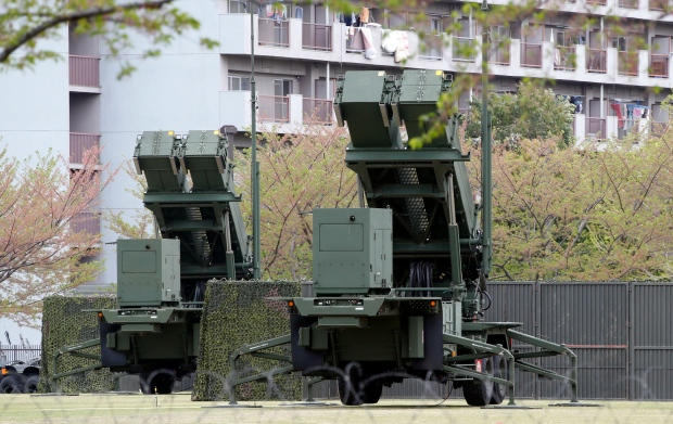 Japan missiles North Korea defence