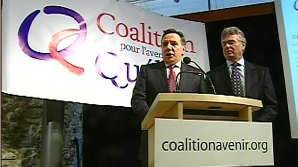 The Coalition for the Future of Quebec is not yet a political party. (Feb. 21, 2011)