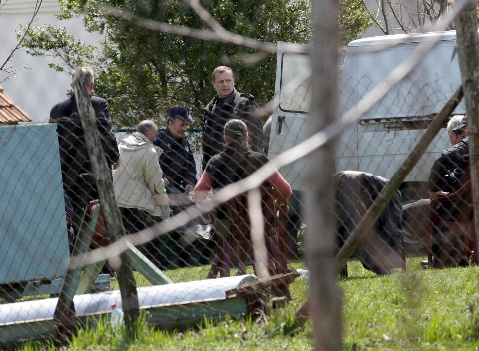 13 people killed in Serbian shooting rampage