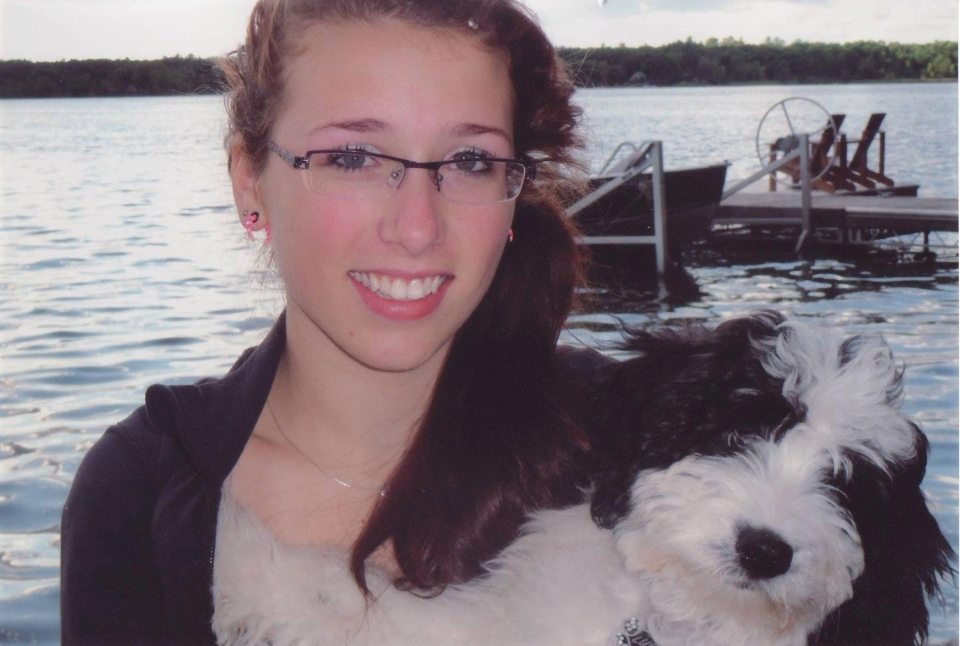 Rehtaeh Parsons is seen in this family photograph taken from Facebook.