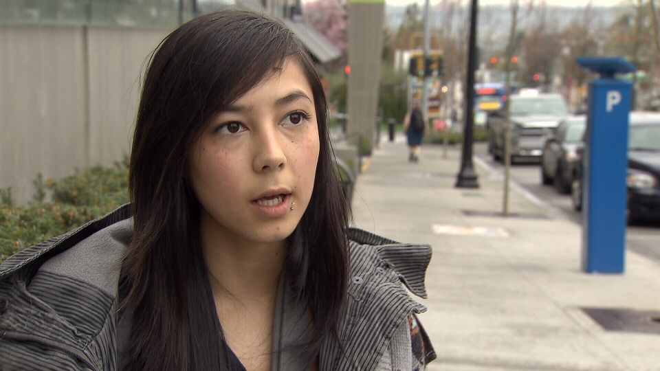 Tanika Coutlee's arm was broken after she was arrested at a Vancouver all-ages concert.