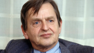 Former Swedish Prime Minister Olof Palme, who was assassinated on Feb. 28 1986, is shown in this 1984 portrait. (AP / Scanpix Sweden/Tobbe Gustavsson, file)