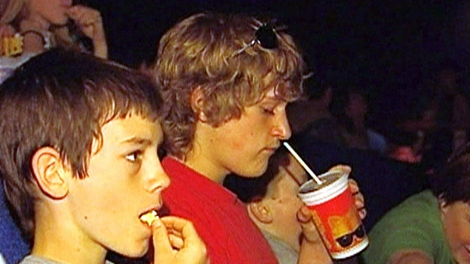 Movie Popcorn High In Fat Calories Ctv News