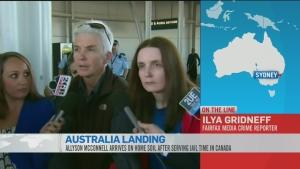 CTV News Channel: Ilya Gridneff in Australia