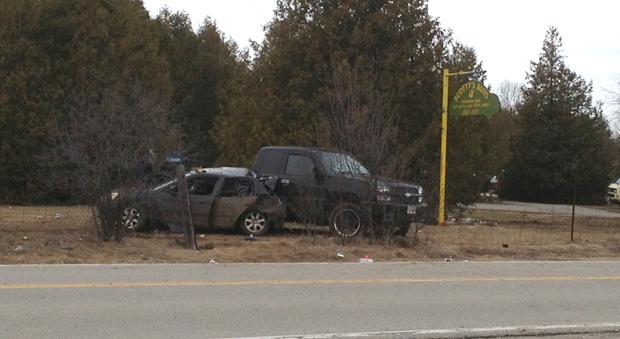 3 injured after police chase in rural area southwest of