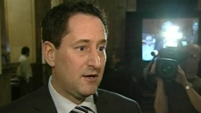 NDG Borough mayor Michael Applebaum sits on the Executive Council (Feb. 22, 2011)