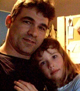 Glen Canning and his daughter Rehtaeh Parsons