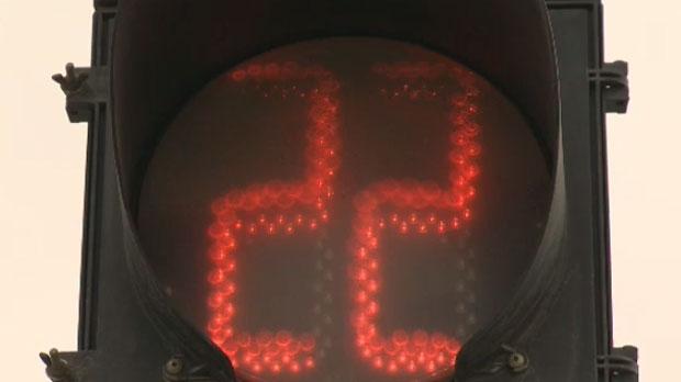 Crosswalk timer