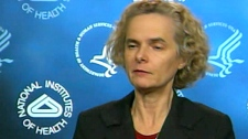Dr. Nora Volkow, director of the National Institute on Drug Abuse, discusses research findings on CTV News, Tuesday, Feb. 22. 2011.