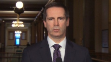 Ontario Premier Dalton McGuinty speaks to members of the media in Ottawa on Monday, Feb. 22, 2011.