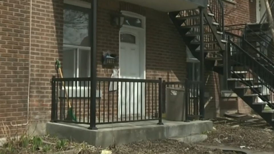 This duplex on St-Dominique St. in Villeray is the