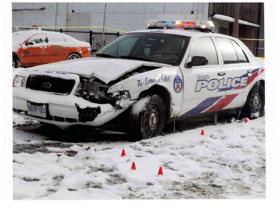 Sgt. Ryan Russell's police cruiser
