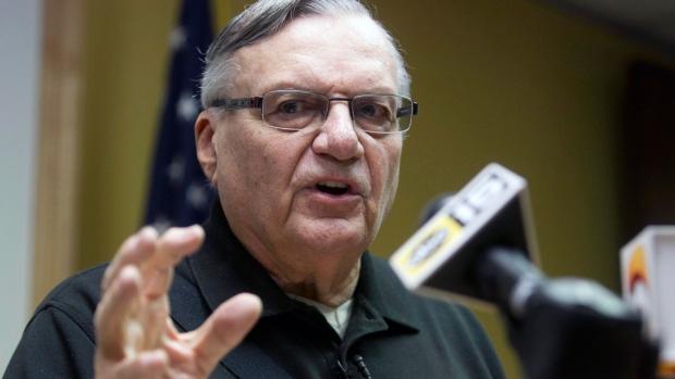 Explosives sent to controversial Arizona sheriff