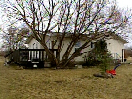A toddler from the Samson Cree Nation was wounded in a drive-by shooting at this rural home.