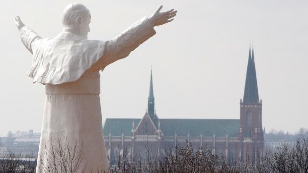 John Paul II statue unveiled in Poland
