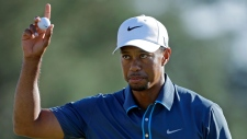 Tiger Woods Masters golf tournament
