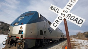 An Amtrak train is seen in this March 2013 file photo. (Ap/Toby Talbot)