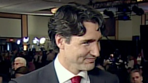 CTV News Channel: Trudeau says he's 'just amazed'