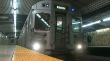 Toronto subway service will be suspended between Bloor and Union stations on Saturday, Feb. 26 and Sunday, Feb. 27, 2011.