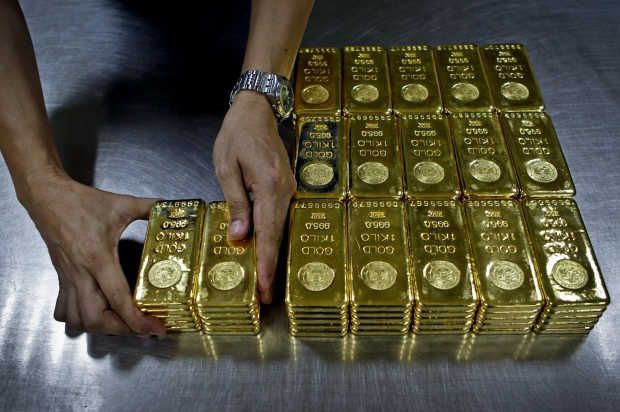 Gold plunges to two-year low