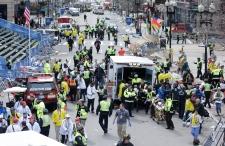 Boston marathon explosion aftermath