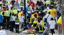 Two explosions rock Boston Marathon finish line