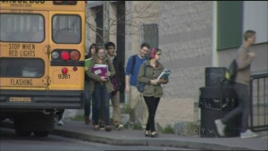 CTV News at Noon for April 15: Parents protest