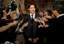 Justin Trudeau responds to Tory attack ads