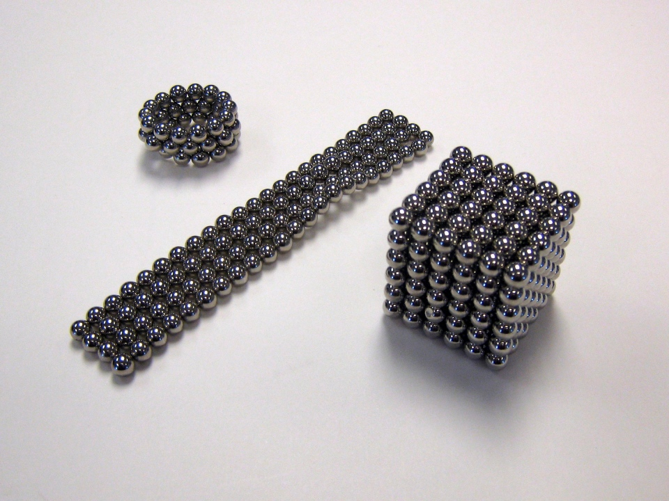 BuckyBalls are shown in a 2009 file photo. Health Canada has issued a recall for a number of adult novelty products containing small, powerful magnets that can be swallowed or inhaled by children. BuckyBalls novelty sets contain a number of rare earth element magnets many times more powerful than traditional magnets. (THE CANADIAN PRESS/AP-HO)