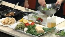 Panzanella Salad with Herb Chicken