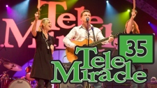 Telemiracle 2010 with artists performing the pirate song