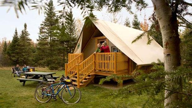 Parks Canada, oTENTik, camping, tent