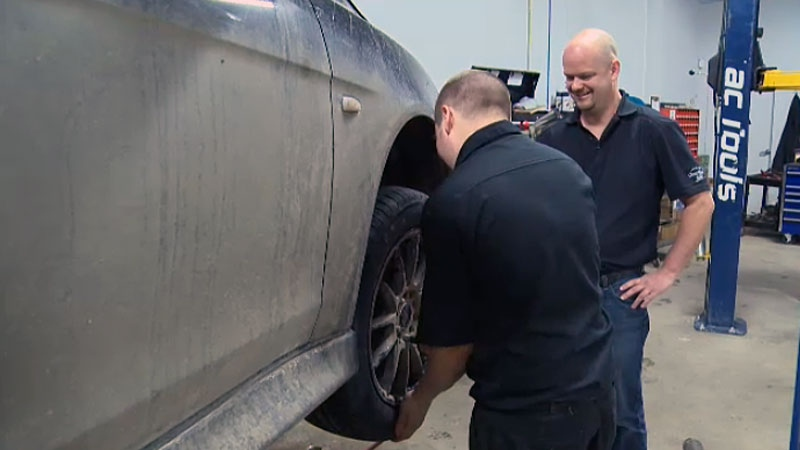 An Edmonton auto shop is hoping to give back to the community and help those in need, with its pay-it-forward business model, offering car repairs based on what customers' can afford.