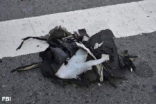 Backpack containing Boston Marathon bomb