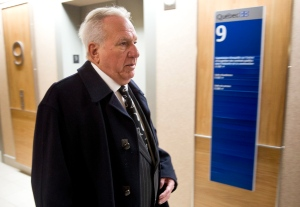 Bernard Trepanier, the financing head for Union Montreal until 2006, arrives at the Charbonneau inquiry looking into corruption in the Quebec construction industry Tuesday, April 16, 2013 in Montreal. (Paul Chiasson / THE CANADIAN PRESS)