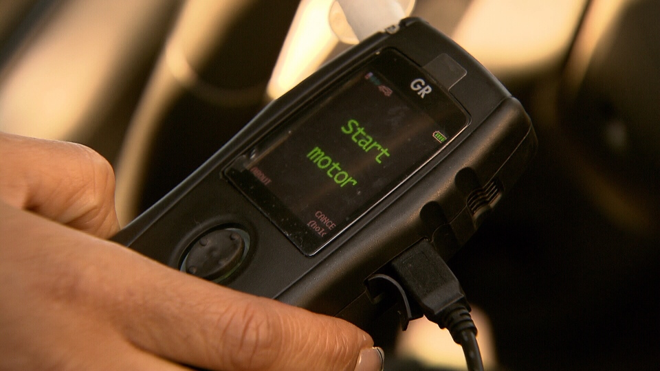 Ignition interlock systems prevent a car from being driven if they detect alcohol, and cost about $1,700. (CTV)
