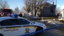 Thurso house fire Ottawa photo