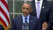 U.S. President Barack Obama gun control bill