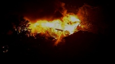 Fire after Texas fertilizer plant explosion