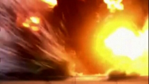 Extended: Massive explosion caught on camera