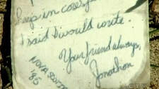 CTV Atlantic: Lost letter washes ashore in Croatia