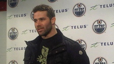 The Edmonton Oilers traded Dustin Penner to the Los Angeles Kings on Monday, Feb. 28,2011.