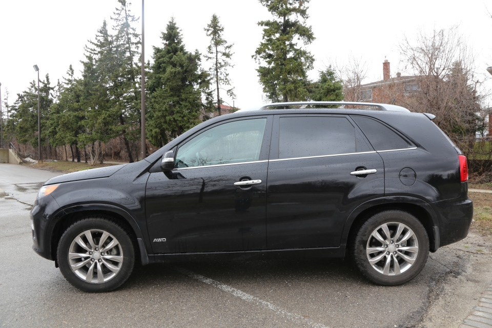Available in 5 and 7 passenger, the Sorento can be used for school runs and long drives (Bill Wang/CTVNews.ca)