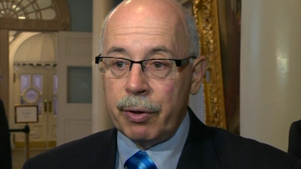 Nova Scotia Justice Minister Ross Landry speaks with CTV News, Friday, April 19, 2013.