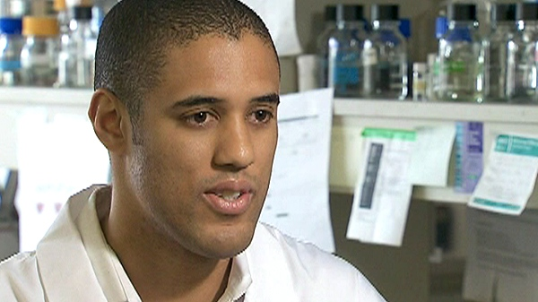 Dr. Anthony Nichols appears on CTV News on Tuesday, March 1, 2011.