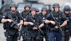 Gunshots heard in Watertown during manhunt