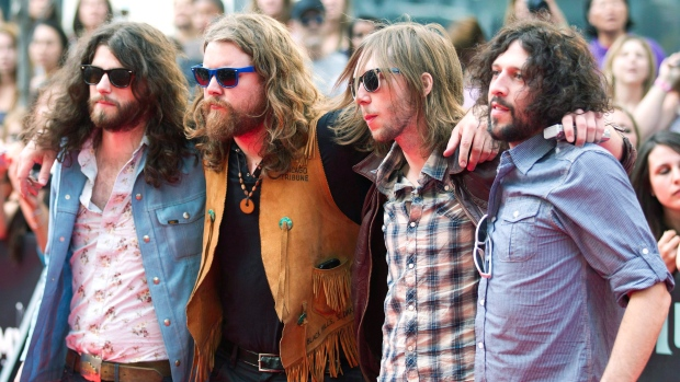 The Sheepdogs drummer Sam Corbett diagnosed with cancer