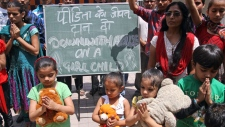 5-year-old Indian girl allegedly raped